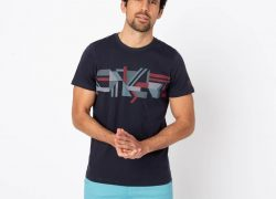 Tee-shirt RAMONTEE Homme manches courtes marine TBS